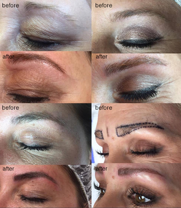 252 West Salon microblading services.
