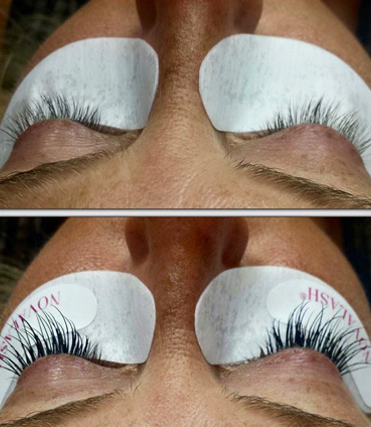 252 West Salon has extensive experience with lash extensions.
