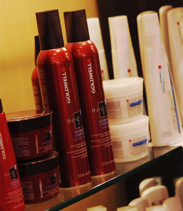 252 West Salon uses Goldwell exclusively for hair color services.