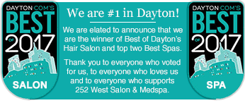 252 West Salon & MedSpa is the winner of Best of Dayton 2017.